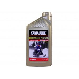 Масло для  снегоходов Yamaha  синтетическое Yamalube 0W-40, LUB-00W40-FS-12