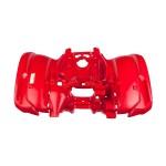 Крыло заднее красное для квадроциклов  Yamaha Grizzly