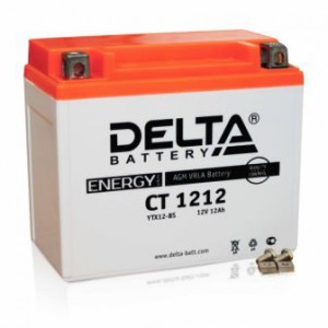 Аккумулятор СТ 1212 Delta Аккумуляторная батарея