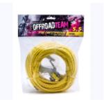 Трос синтетический OffRoadTeam Basic 5,5мм х 15м, с крюком