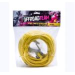 Трос синтетический OffRoadTeam Basic 6мм х 15м, с крюком