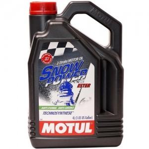 Масло MOTUL SnowPower 2T 4 литра
