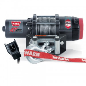 Лебедка WARN RT25 металлический трос   WARN RT25