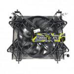 Радиатор в сборе  с вентилятором для Polaris RZR1000, RZR900