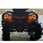 Ангельские глазки желтые для квадроцикла Can-Am Outlander G2 2012+