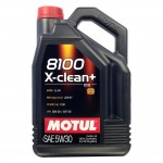 Масло Motul 8100 X-clean+ 5W30  5л