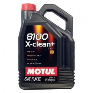 106377  Масло Motul 8100 X-clean+ 5W30  5л