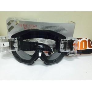 Очки с перемоткой  для кроссового шлема 100%