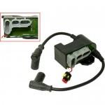Модуль зажигания и  провода в/в со свечным наконечником для снегохода BRP