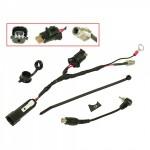 Набор проводов с разъемами RCA BPR