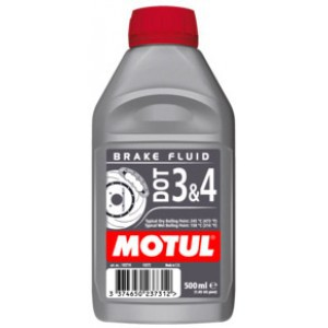 Жидкость тормозная MOTUL DOT 3&4 BRAKE FLUID (500 МЛ.)  102718