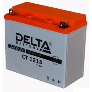 Аккумулятор СТ 1218  Delta Аккумуляторная батарея