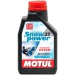 Масло Motul  Snowpower 2T для снегоходов 1L