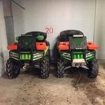 Вынос радиатора для квадроцикла  Arctic Cat Mud Pro 700