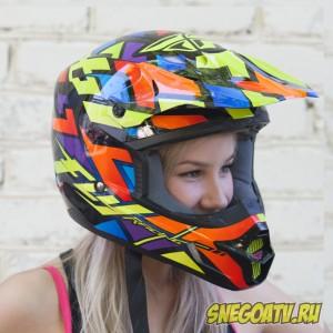 Шлем кроссовый FlyRacing L
