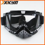 Очки для шлема   Черные прозрачные