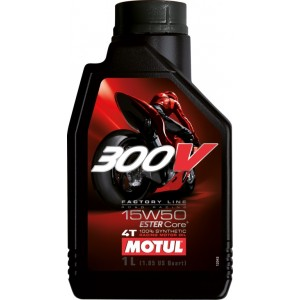 Масло Motul 300 V 4T FL Road Racing SAE  15w-50 1 л