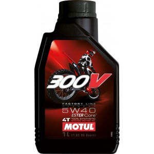 Масло MOTUL 300 V 4T Off Road SAE  5w-40 1 л