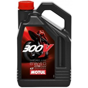 Масло  Motul 300 V 4T FL Road Racing SAE  10w-40  4 л
