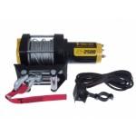 Лебедка T-max  ATV2500 (1134кг) электрическая 12В стальной трос