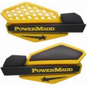 Защита рук для снегоходов и квадроциклов желтая